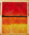 Untitled (Violet, Black, Orange, Yellow on White and Red), 1949 - Mark Rothko (inspired by)