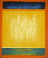 Untitled (blue, yellow, and green on red) - Mark Rothko (inspired by)