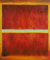 Saffron, 1957 - Mark Rothko (inspired by)