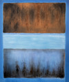 No. 61 Rust and Blue - Mark Rothko (inspired by)