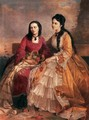 Sisters 1871 - Gyorgy the Elder Vastagh