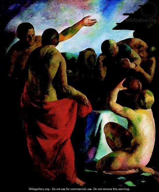 Nudes in the Open 1926 - Karoly Patko