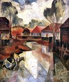 Village in Hungary c. 1925 - Karoly Patko