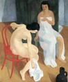 Bathing in the Morning 1930s - Karoly Patko