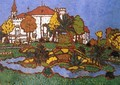 Mansion at Geszt 1912 - Jozsef Rippl-Ronai