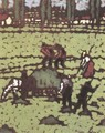 Work in the Fields c. 1910 - Jozsef Rippl-Ronai