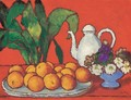 Still-life with Oranges - Jozsef Rippl-Ronai