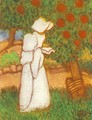 Woman Dressed in White 1896 - Jozsef Rippl-Ronai