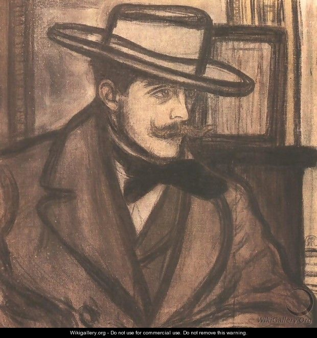 Portrait of James Pitcairn Knowles 1892 - Jozsef Rippl-Ronai
