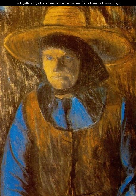 Old Woman with Hat end of 1920s - Istvan Nagy