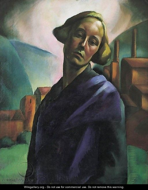 Self-Portrait c. 1921 - Erzsebet Korb