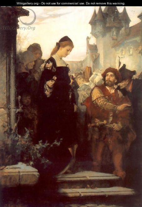 Faust and Marguerite 1873-75 - Sandor Liezen-Mayer