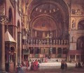 Interior of Sr Marks Basilica in Venice 1873-75 - Mihaly Kovacs