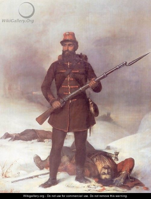 Soldier 1848 - Mihaly Kovacs