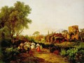 Wine Harvest Tarantella 1835 - Károly, the Elder Markó