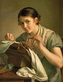 The Lacemaker, 1823 - Vasili Andreevich Tropinin