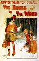 Poster advertising a performance of The Babes in the Wood at the Aldwych Theatre - Will True
