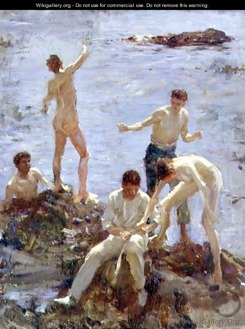 Boys Bathing, 1907 - Henry Scott Tuke
