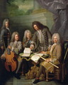 La Barre and Other Musicians, c.1710 - Robert Tournieres