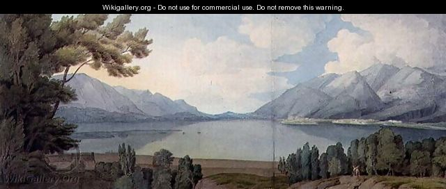 Derwentwater from the South, 1786 - Francis Towne
