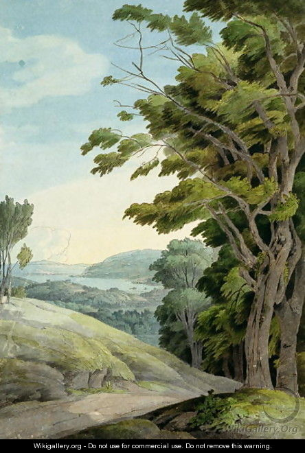View from Rydal Park - Francis Towne