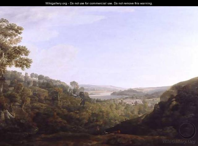 The Valley of the Teign, Devonshire, 1780 - Francis Towne