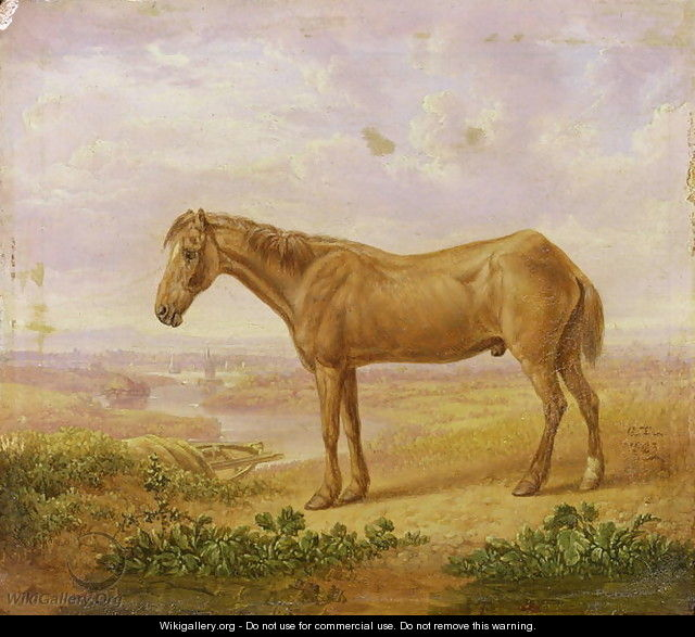 Old Billy, a Draught Horse, Aged 62 - Charles Towne