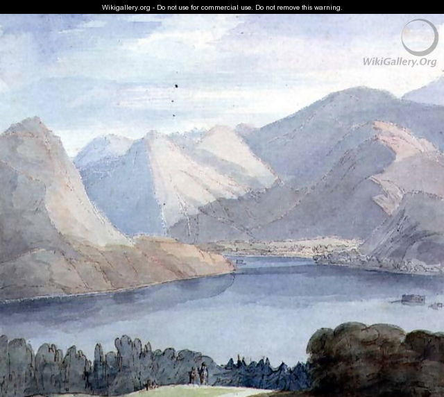 Ullswater from Gowbarrow Park, 1786 - Francis Towne