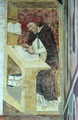 Hugues de Provence at his Desk, from the Cycle of Forty Illustrious Members of the Dominican Order in the Chapterhouse 1342 - Tommaso da Modena Barisino or Rabisino