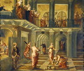 The Parable of the Wise and Foolish Virgins - Jacopo Tintoretto (Robusti)