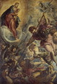 Archangel Michael Fights Satan, c.1590 - Jacopo Tintoretto (Robusti)