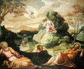 The Agony in the Garden - Jacopo Tintoretto (Robusti)
