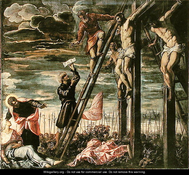 Crucifixion - Jacopo Tintoretto (Robusti)