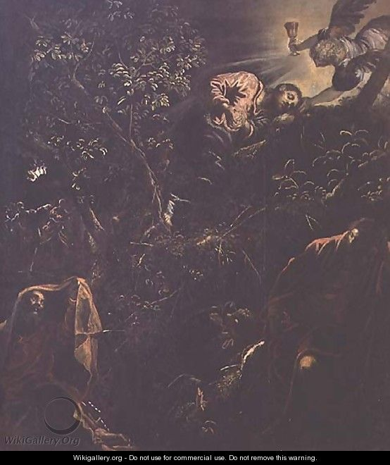 Christ in the Garden of Gethsemane - Jacopo Tintoretto (Robusti)