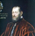 Portrait of Andrea Frizier, Grand Chancellor of Venice - Jacopo Tintoretto (Robusti)