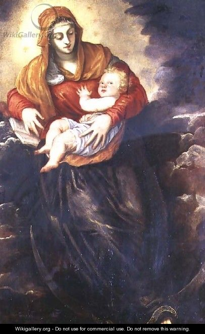 Madonna and Child - Jacopo Tintoretto (Robusti)