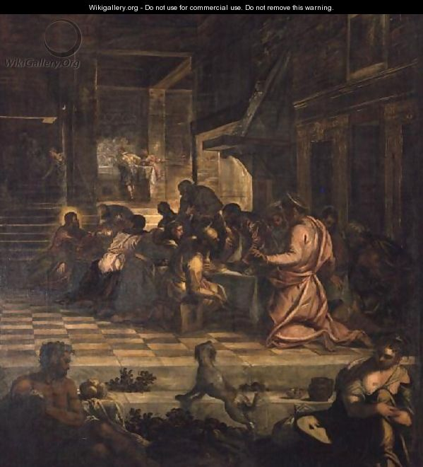 The Last Supper 4 - Jacopo Tintoretto (Robusti)