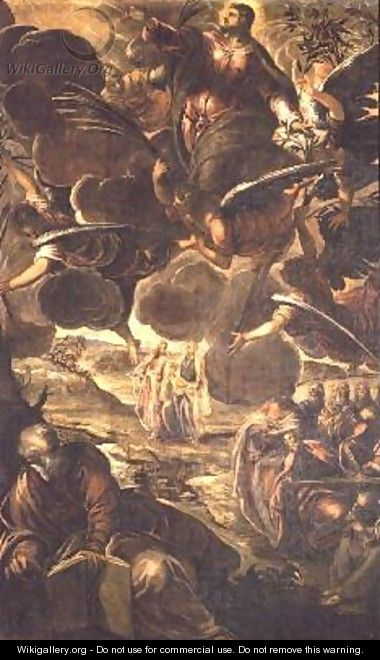 The Ascension of Christ - Jacopo Tintoretto (Robusti)