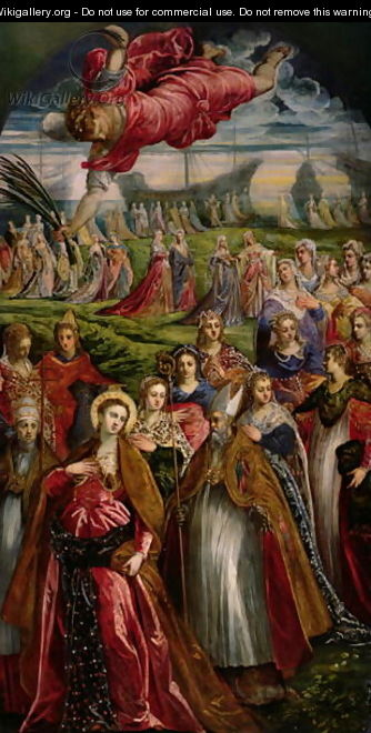 St. Ursula and the Eleven Thousand Virgins 2 - Jacopo Tintoretto (Robusti)