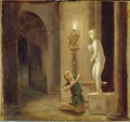 Pygmalion before the Statue of Venus, c.1800 - Johann Heinrich Wilhelm Tischbein