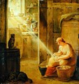 Interior The Potato - Johann Heinrich Wilhelm Tischbein