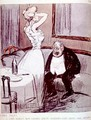 Prostitute and an old man from LAssiette Au Beurre magazine, pub. 1907 - Tiamirol