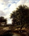 The Path by the Pond - Joseph Thors