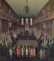 The House of Commons in Session, 1710 - Peter Tillemans