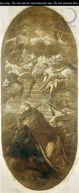 Jacobs Ladder - Domenico Tintoretto (Robusti)