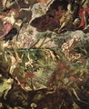The Last Judgement, detail of the damned in the River Styx and Charons boat full of passengers, before 1562 - Domenico Tintoretto (Robusti)