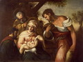 The Adoration of the Shepherds - Domenico Tintoretto (Robusti)