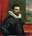Portrait of Francesco Bassano 1549-92 - Domenico Tintoretto (Robusti)