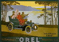 Advertisement for Orel motor cars - Walter Thor