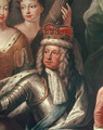 Detail of George I from the Painted Hall, Greenwich - Sir James Thornhill